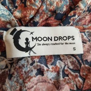 Moon Drops Jackets & Coats - Moon Drops High Low Front Tie Vest Size Small.
